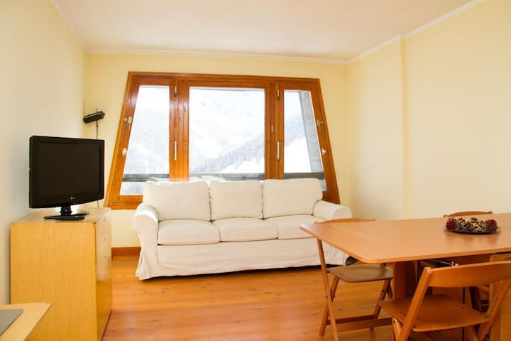 Beautiful views of the slopes - Colle Sestriere - Apartamento