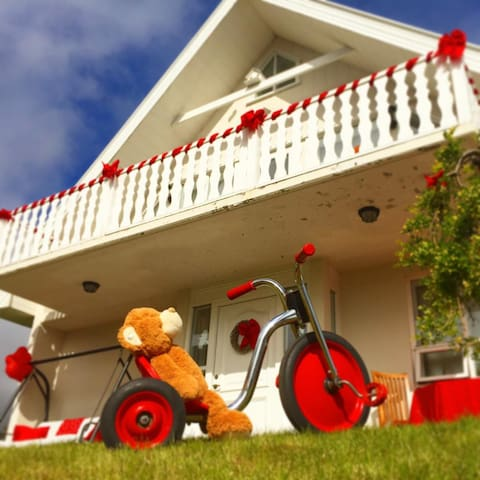 A big and bright house in Akureyri