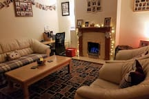 Please feel free to join us in our warm & cosy living room.