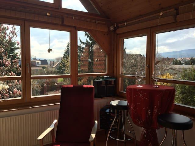 Ländliche Wohnung in Stadtnähe - Neudörfl - Apartamento
