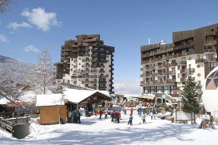 Les Orres Station 1650 Le Cairn - Les Orres - Apartamento