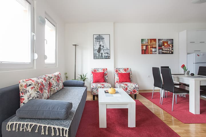Brand New, Nice and Quiet - Skopje - Flat