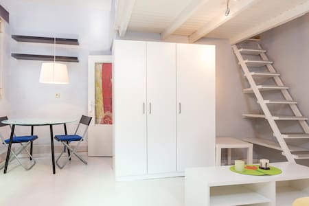 Loft Wifi & AC 15min to center 4Pax - Apartment