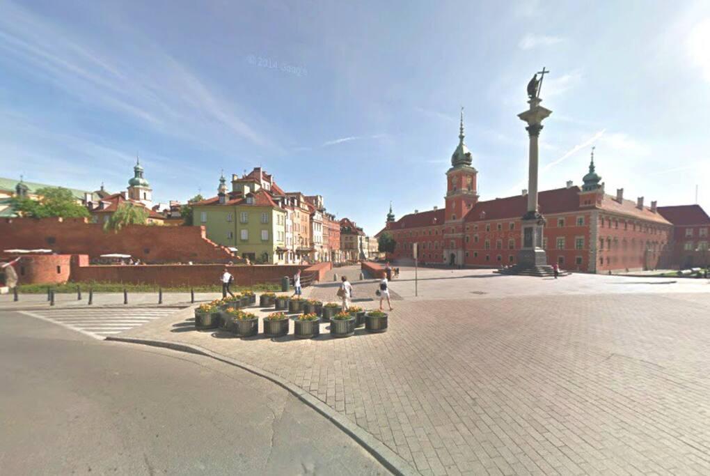 Castle Square View from Senatorska street