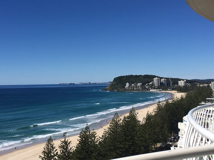 Luxury 16th flr Burleigh Surf - Spectacular Views