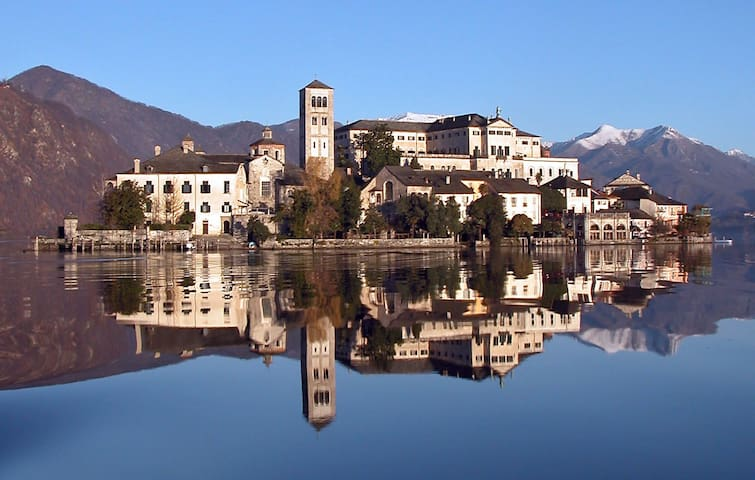 Charming apartment, lake view and wifi - Orta San Giulio - Wohnung