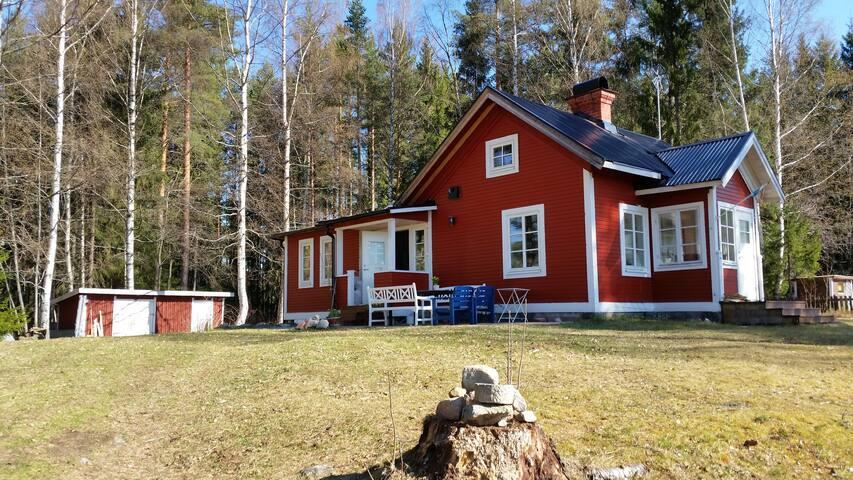 Modern Cottage in Orbaden, Hälsingland's Riviera