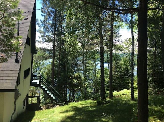 Maison au bord du Lac Ouareau - Saint-Donat-de-Montcalm - Chalet