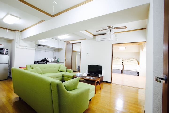 No.4 Center of Susukino 5 minutes to Susukino Sta. - Chuo Ward, Sapporo - Apartment