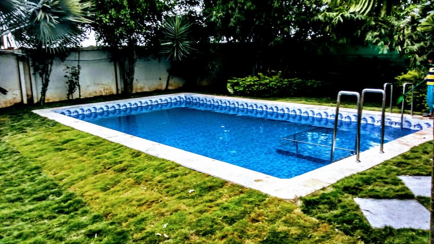Luxury  Villa in Shamshabad with private pool.