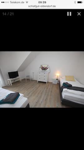 SchlafGut in Oldendorf :-) - Appel - House
