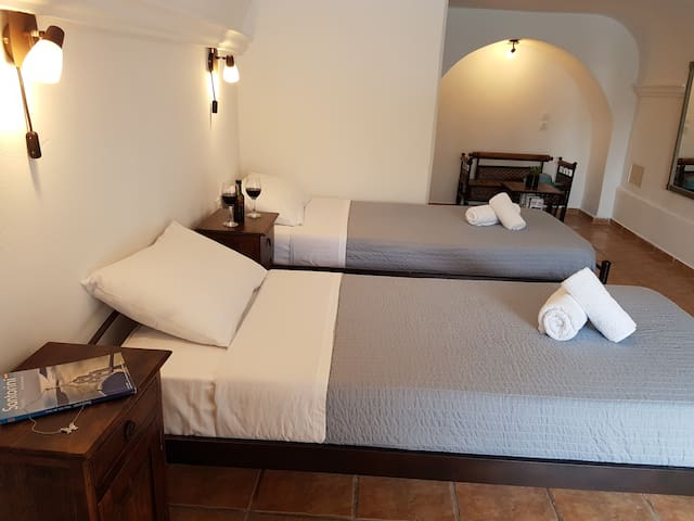 ASYRTIKO2 Cave Double Room - Mesaria - Appartement