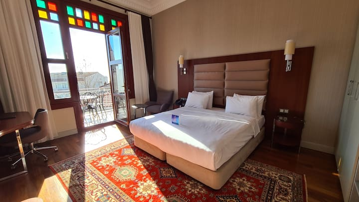 Boutique Hotel with Balcony in Sultanahmet