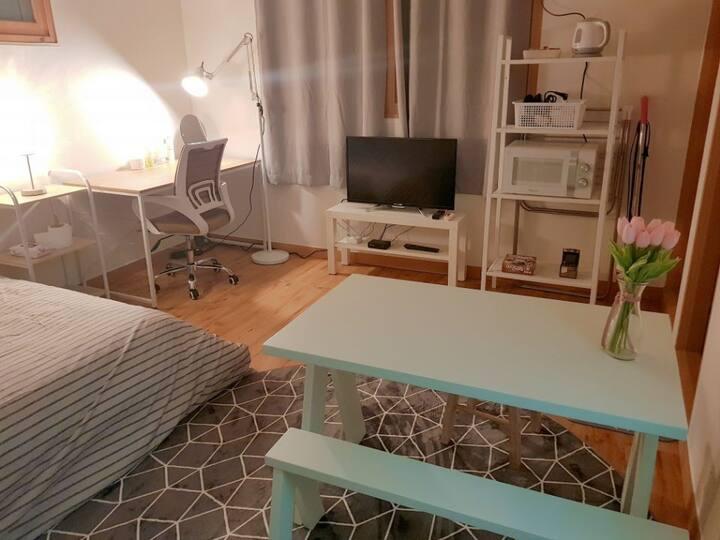[아름드리]천안 두정동 원룸 #책상 #식탁 #Wi-Fi #5층