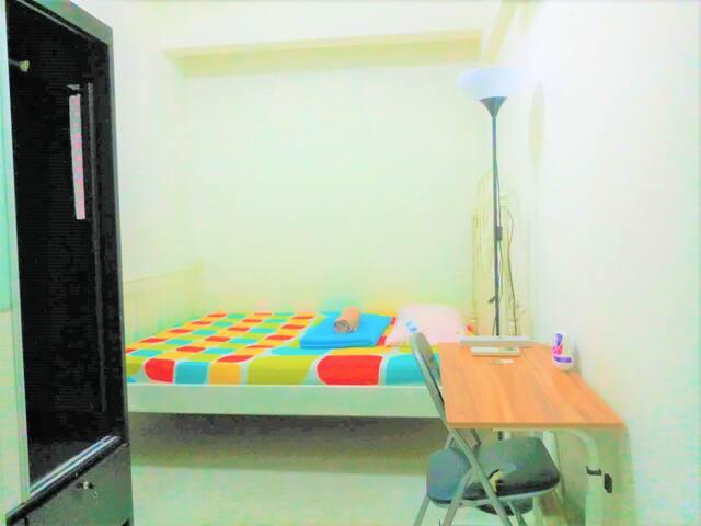 HighFloor City/chinatown Queenbed room1