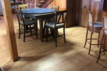Finished basement.