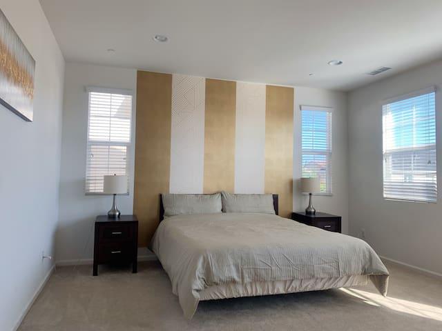 Master Bedroom in Irvine Villa