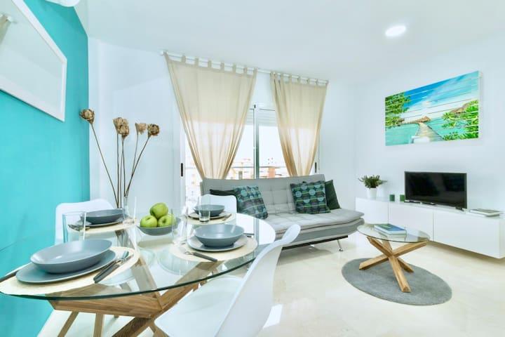 Blue & White Apartament