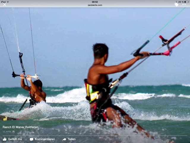 Kite surfen in Zarzis - Zarzis - Bed & Breakfast