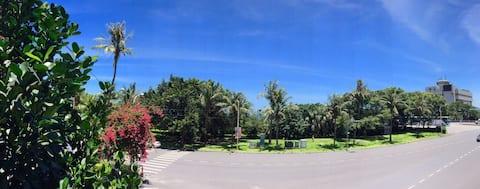 海濱公activateactivate屋feriestudio ved siden av seashore park