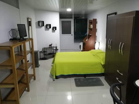 Apartamento cálido y tranquilo