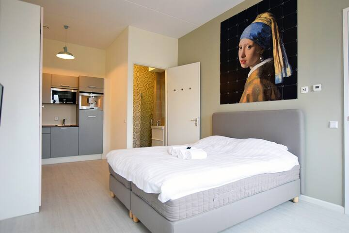 Great & modern private studio close to NDSM! - Ámsterdam - Loft