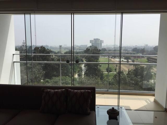 Excelente vista desde departamento! - Lima - Appartement