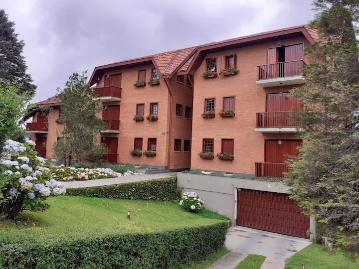 Apartamento aconchegante com 3 quartos no Capivari