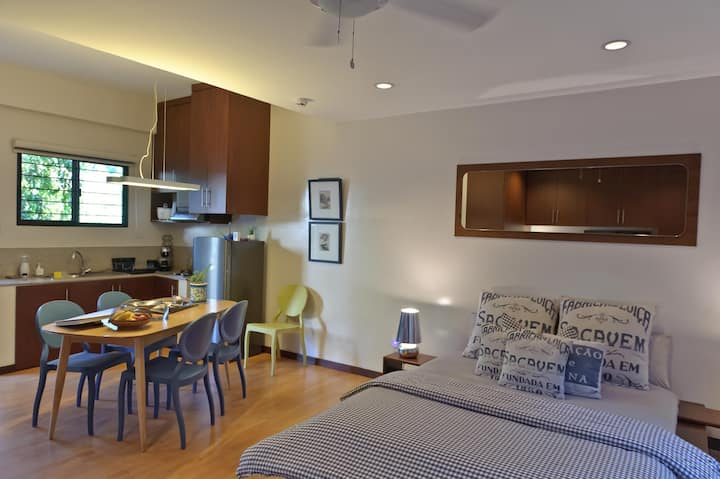 DOT-CERTIFIED: Lovely Studio 3 mins to White Beach