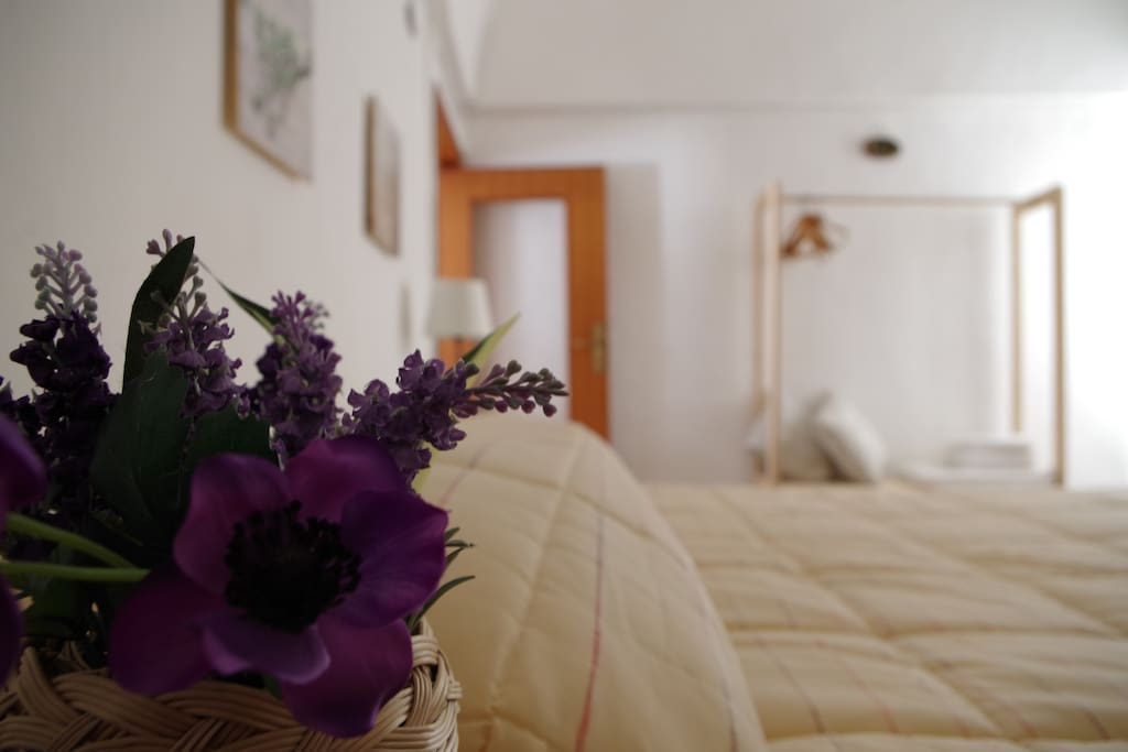 Bright, spacious bedroom