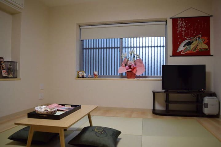 Cozy Japanese style apartment in central Ginza