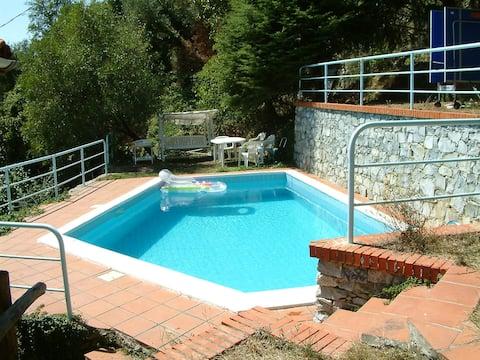 Villa with private swimming pool , park, fine view