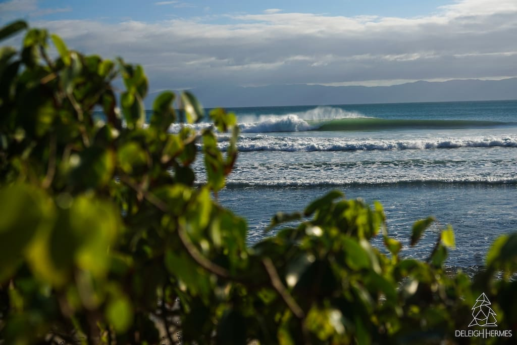 Trips to less crowded surf spots with perfect waves for beginner and intermediate level surfers
