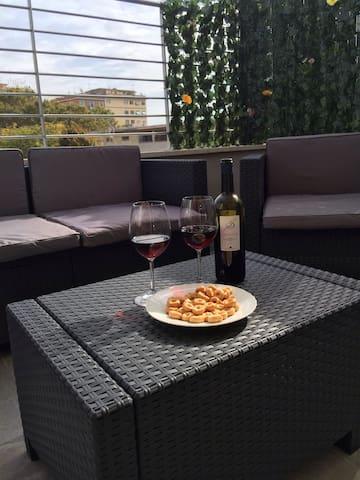 La terrazza nel cuore del pigneto - Roma - Loft