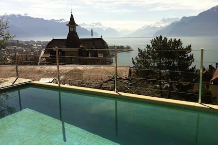 Magnifique maison avec piscine - Corseaux