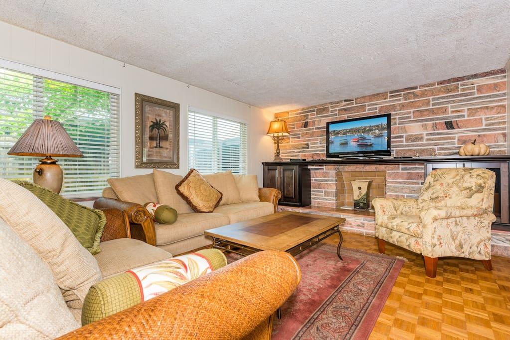 Classic mid-century style, modern comfort