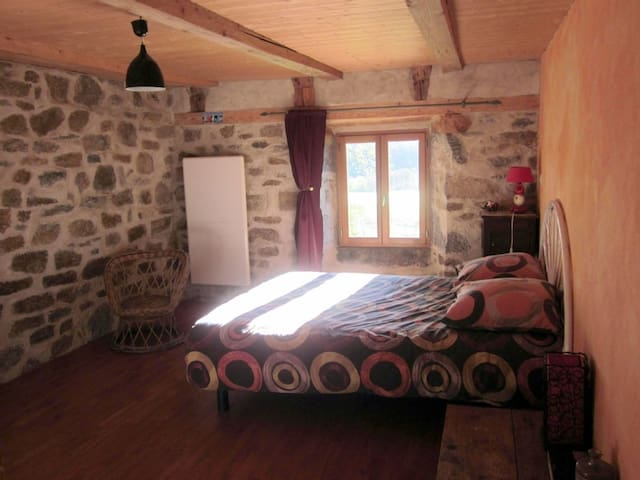 Gîte isolé dans le Massif du Sancy 3-7 pers. - Saint-Donat - Hus