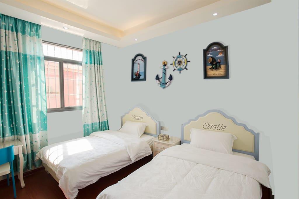 房型:舒适双床房;