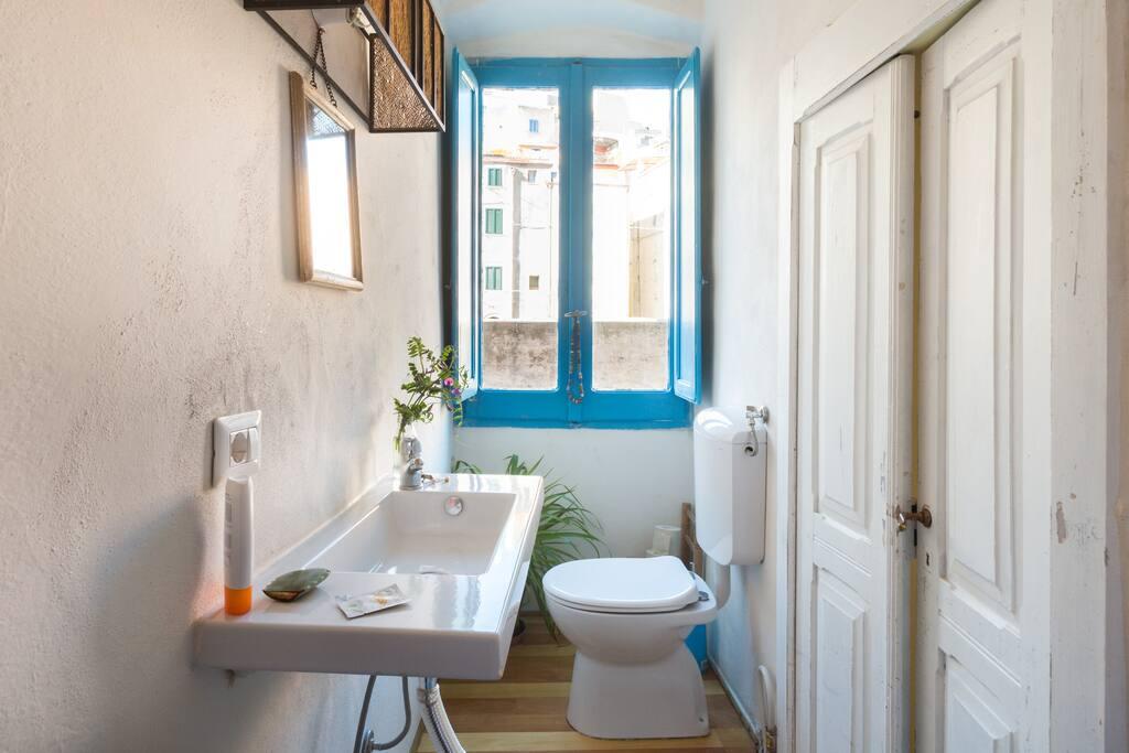 little nice private bathroom