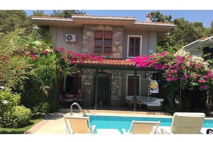 Luxury Private Villa in the Heart of Göcek w/Pool
