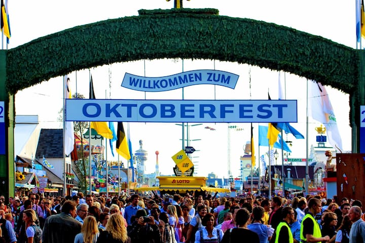 Beautiful apartment available for the Oktoberfest