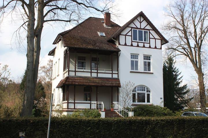 """Übernachten im """"Waldschlösschen"""" - Barmstedt - Wikt i opierunek"""