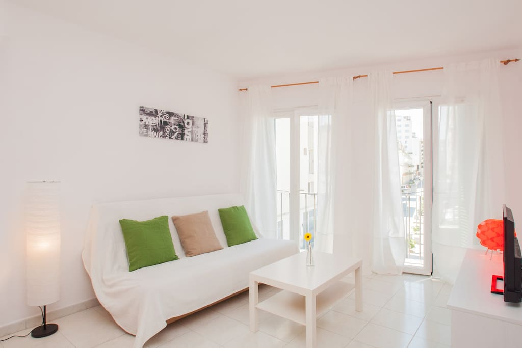 Living room, lighty, clean comfortable