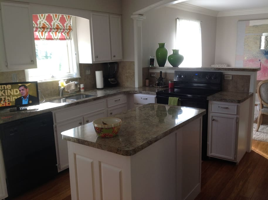newly updated kitchen