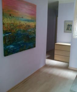 Precioso piso con terrazay chimenea - Berga - 公寓