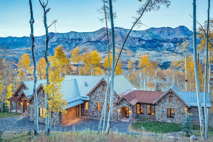 PETRA DOMUS - NEW Luxury Home, Mountain Village Golf Course, Hot Tub