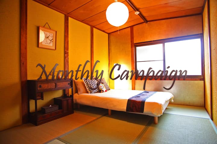 2min from Tanimachi6 sta★Historical house