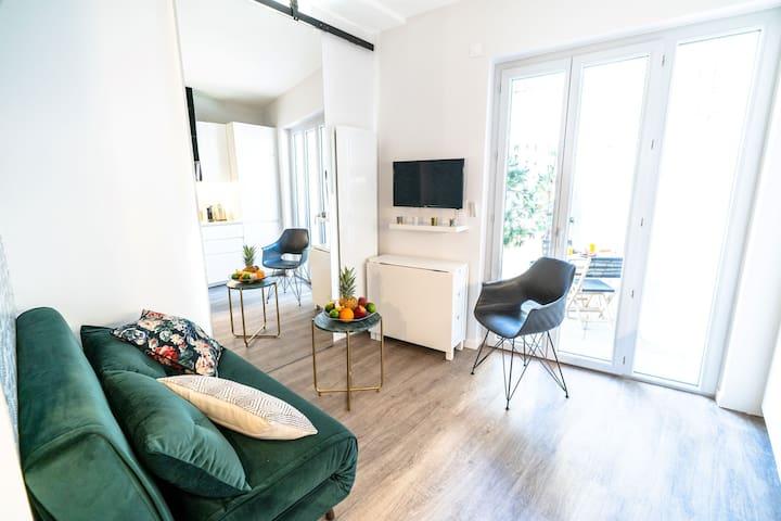 Studio Bocuse avec terrasse (3 pers) -Oullins-Lyon