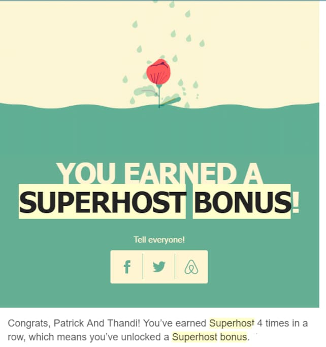 we have been awarded superhost 4 times in a row. Superhosts are experienced hosts who provide a shining example for other hosts, and extraordinary experiences for their guests.