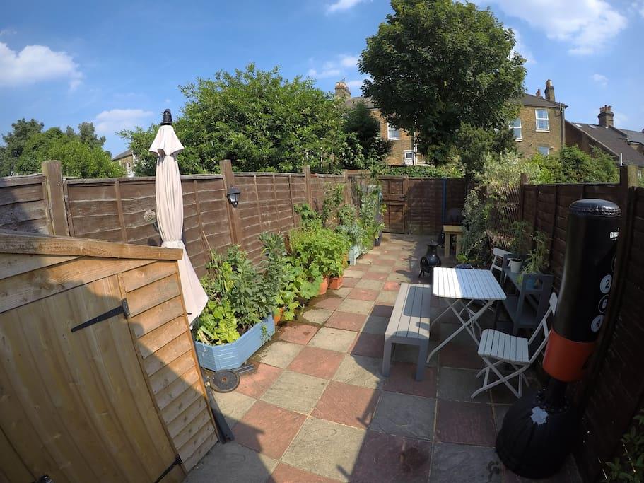 30 square meter garden